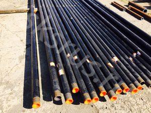 Подготовка к отправке труб 89х6 в ПЭ 3сл. ГОСТ 9.602-2005